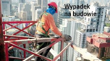 wypadki przy pracy na budowie odszkodowania