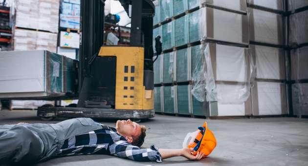 wypadek w pracy